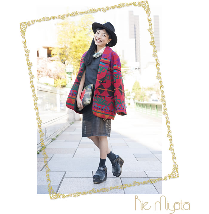 ファッションジャーナリスト、ファッションディレクター、インフルエンサー 宮田理江(Rie Miyata)