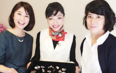 NHK『あさイチ』に出演します(あるアクセサリーを使ったコーデ)