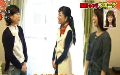 "NHK『あさイチ』に出演しました(最新トレンド""ブローチ""の普段着コーディネート)"