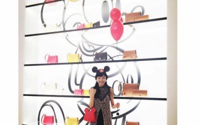 ここにもミッキーマウス! DISNEY x COACHの夢競演~コーチ表参道店で朝食パーティが開催