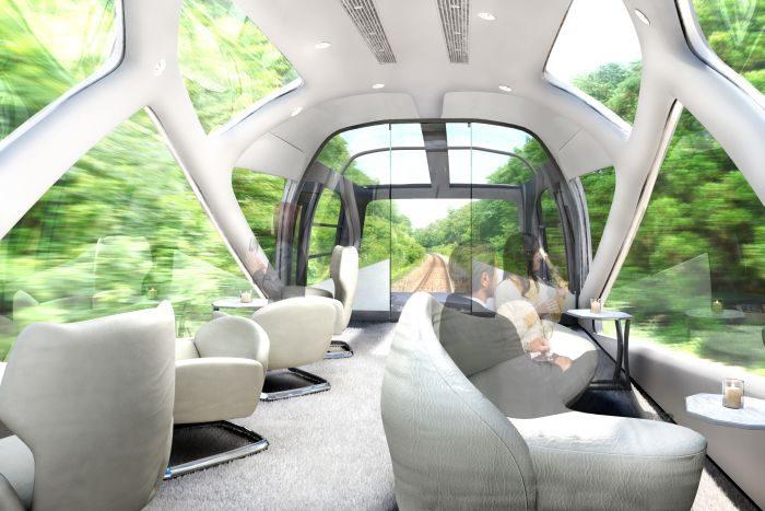 「TRAIN SUITE 四季島」のディナーレセプション