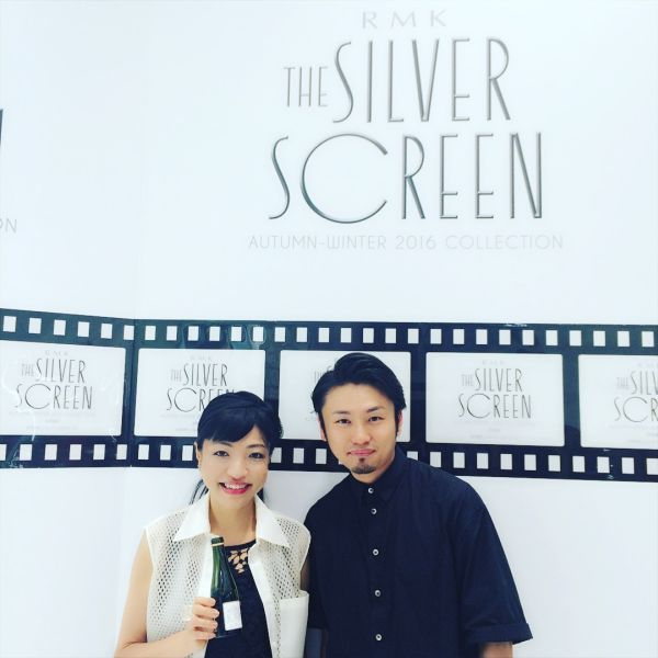 RMK「THE SILVER SCREEN」 新作レセプションパーティー