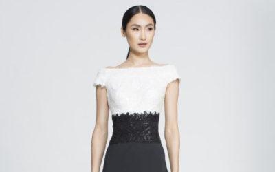 福原愛さんが選んだドレスは「TADASHI SHOJI(タダシ ショージ)」