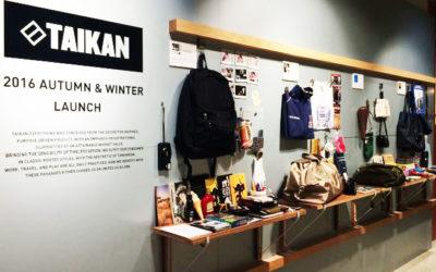 カナダ・バンクーバー発のバッグブランド「TAIKAN EVERYTHING(テイケン エブリシング」が日本上陸