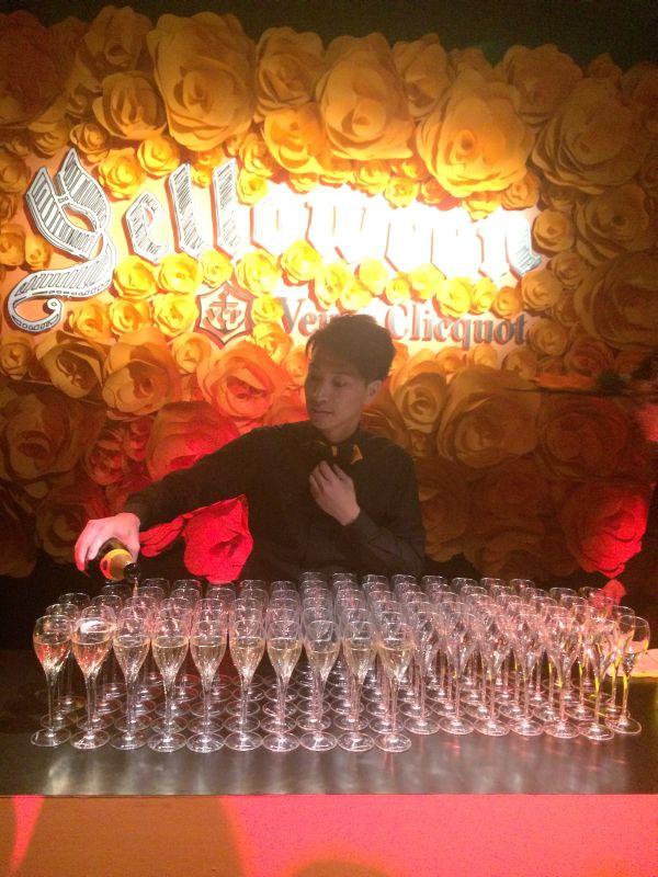 「Veuve Clicquot(ヴーヴ・クリコ)」のハロウィンナイト