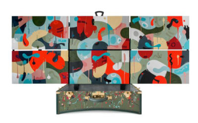「MOYNAT(モワナ)」からアーティストとのコラボ「マンボ・フォー・モワナ コレクション」が発売