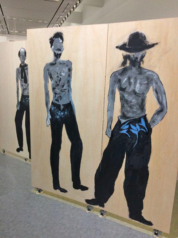 「画と機 山本耀司・朝倉優佳」展 オープニングパーティ