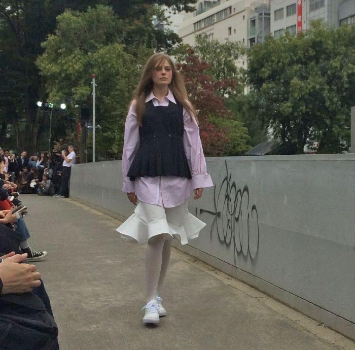 「KEISUKEYOSHIDA(ケイスケ ヨシダ)」2017年春夏東京コレクション