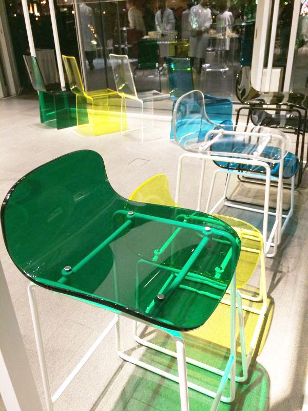 透明アクリル樹脂素材の家具ブランド「TRANSPARENCY(トランスペアレンシー)」がデビュー