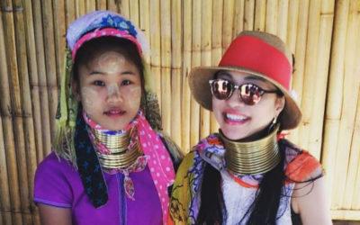 タイ「パタヤ→バンコク」で冬休みを満喫 首長族さんにも会いました