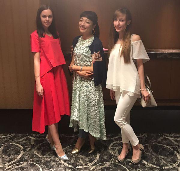 「リアルファッションフェスタwithビューティ」でトークショーに登壇