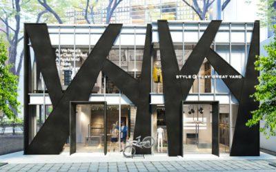 ファッション×スポーツのセレクトショップ「STYLE& PLAY GREAT YARD(スタイルアンドプレイグレイトヤード)表参道」がオープン