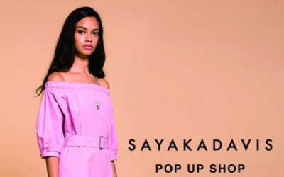 「SAYAKADAVIS(サヤカデイヴィス)」のポップアップショプ、トゥモローランド 渋谷本店で開催