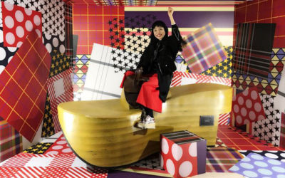 Vivienne Westwood Anglomania+melissa「RIDE THR ROCKING HORSE」イベント