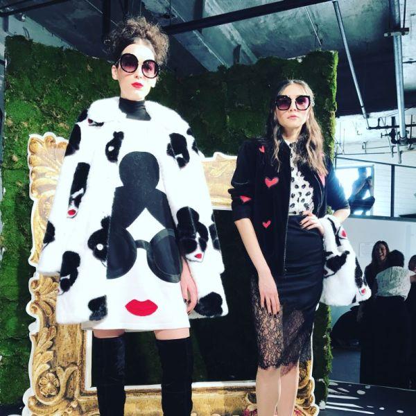 Alice + Olivia(アリス アンド オリビア)2017-18秋冬NYコレクション