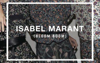 ISABEL MARANT(イザベル マラン)のポップアップイベント「BLOOM BOOM」が開催