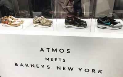「ATMOS MEETS BARNEYS NEW YORK(アトモス ミーツ バーニーズ ニューヨーク)」がオープン