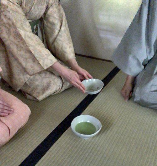 「GALLARDAGALANTE(ガリャルダガランテ)」のお茶会@根津美術館・茶室