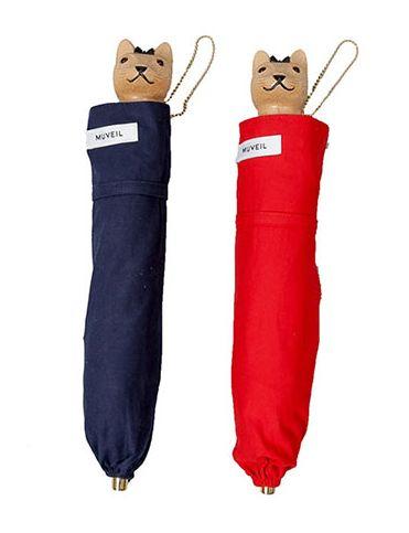 猫モチーフの傘やカンカン帽、アクセサリーが「MUVEIL」から登場