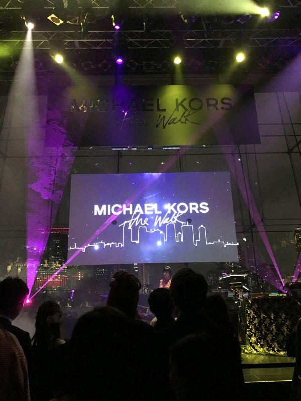 マイケル・コースの「The Walk」イベントを堪能@表参道店&ビルボードライヴ東京