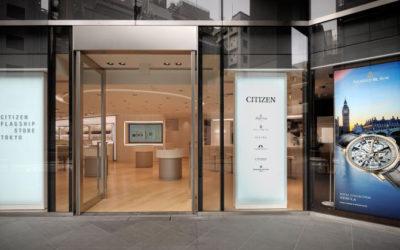 シチズンウオッチグループの旗艦店「CITIZEN FLAGSHIP STORE TOKYO」が「GINZA SIX」にオープン