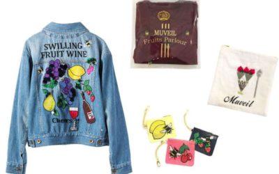 ミュベールが仕掛ける「フルーツパーラー」 ワッペンや刺繍に特別感