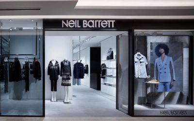 「Neil Barrett(ニール バレット)」、メンズとウィメンズの複合店を「GINZA SIX」にオープン