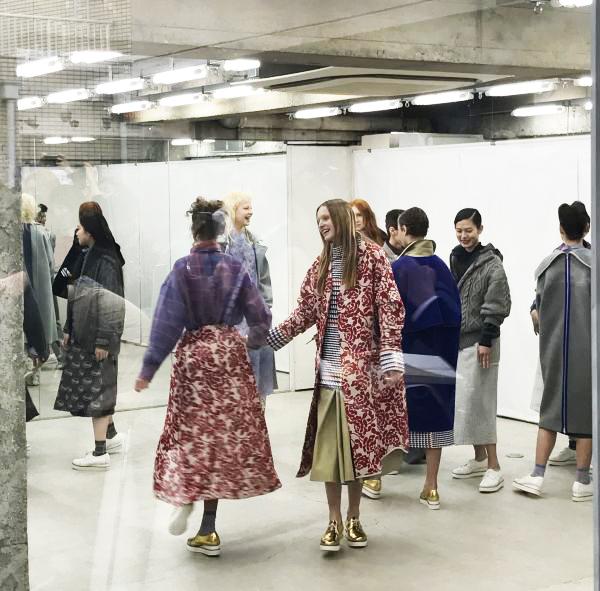 「mintdesigns(ミントデザインズ)」2017-18年秋冬東京コレクション