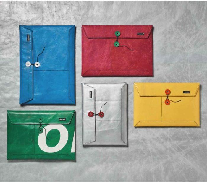 幌リサイクルの「FREITAG(フライターグ)」がバケツ型バッグ、パソコンケース、アパレルを発売