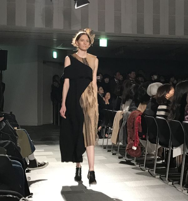 「Hanae Mori manuscrit(ハナエ モリ マニュスクリ)」2017-18年秋冬東京コレクション