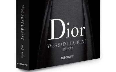 書籍『DIOR BY YVES SAINT LAURENT』を出版 ディオール在籍当時のサンローランに焦点