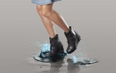 雨の日に足取り弾む 「SOREL(ソレル)」レインブーツで主役コーデ