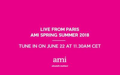 ami alexandre mattiussi(アミ アレクサンドル マテュッシ)2018年春夏コレクション ランウェイショー ライブストリーミング