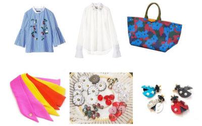 自分好みに「MUVEIL」のブラウスとバッグをカスタマイズ 刺繍やオリジナルパーツ、ストールアレンジ