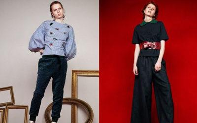 「MUVEIL」2017プレフォールはちょっと主張強めに ギャザー袖ブラウスや飾り襟付きTシャツ