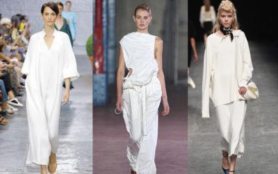 夏の全身ホワイトコーデ 仕事着での使い方