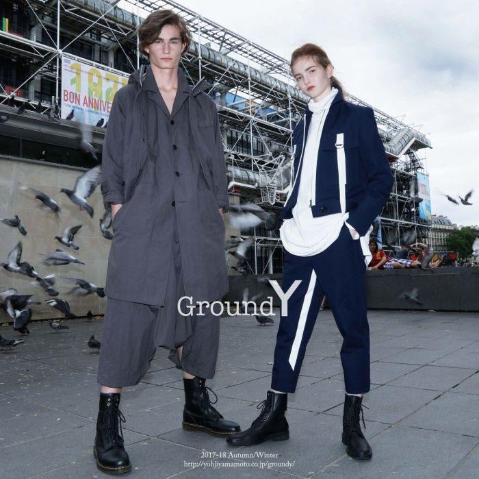 「Ground Y(グラウンド ワイ)」、2017-18年秋冬コレクションのビジュアルを公開