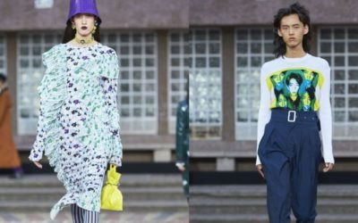 「KENZO(ケンゾー)」2018年春夏メンズ&ウィメンズコレクション ミューズは2人の日本人