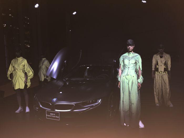「BMW i8 Protonic Frozen Black x ANREALAGE(アンリアレイジ)特別展」レセプション