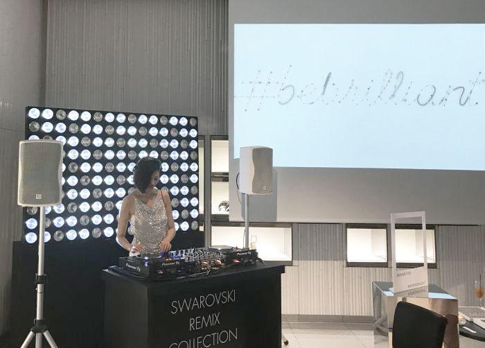 スワロフスキー・ジュエリーのカスタマイズができるイベント「Swarovski Remix Colleciton」MY REMIX NIGHT