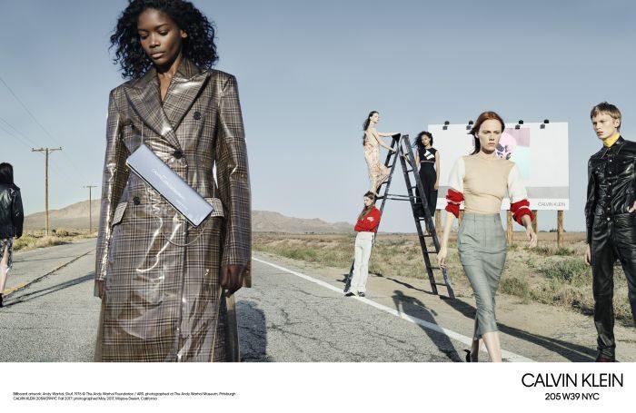 ラフ・シモンズによる、2017年秋のCALVIN KLEIN 205W39NYCグローバル広告キャンペーン
