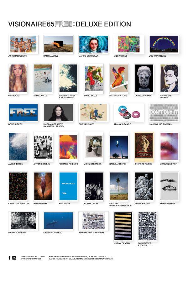 「ヴィジョネアー 65 × マーク ジェイコブス」のポスターケース発売