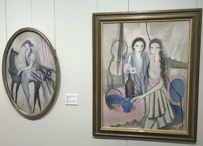 「マリー・ローランサン美術館」開館記念特別展@ホテルニューオータニ・ガーデンコート