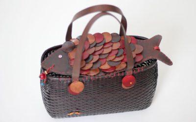 革の「HENRY CUIR(アンリークイール)」と竹細工の「公長齋小菅」がバッグでコラボ