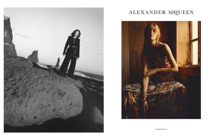 「ALEXANDER McQUEEN(アレキサンダー・マックイーン)」、2017-18年秋冬キャンペーン用ビジュアルを発表