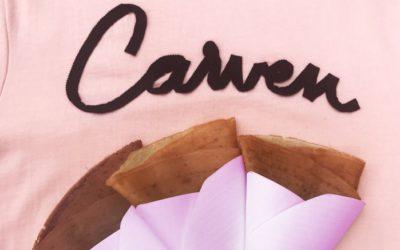 「CARVEN(カルヴェン)表参道」でクレープ&ティースタンドの無料サービス