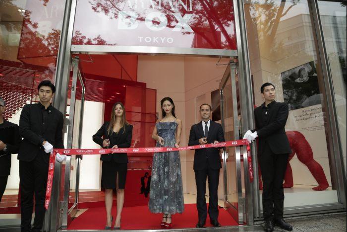 """ポップアップストア「GIORGIO ARMANI beauty """"ARMANI BOX TOKYO""""」がオープン"""