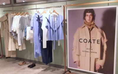 注目ブランド「COATE(コート)」とは? ポップアップショップが「ガリャルダガランテ」に登場