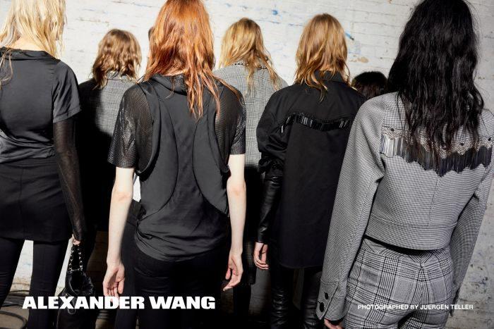 「ALEXANDER WANG(アレキサンダー ワン)」、2017-18年秋冬キャンペーンビジュアルを公開