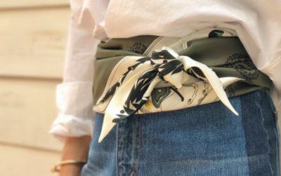 スカーフを120%活用できる巻き方 まだまだあります、スカーフの裏技、小技、荒技